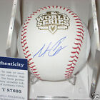 MATT CAIN (Giants) Signed Official 2012 WORLD SERIES Baseball w PSA COA