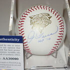 JOE TORRE (Yankees) signed Official 2000 WORLD SERIES Baseball w PSA COA