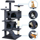 51 Cat Tree Tower Condo Furniture Scratching Post Pet Kitty Play House 4 Colors