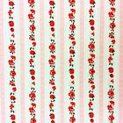 MD293 Floral French Country Garden English Rose Strawberry Cotton Quilt Fabric