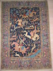 Extremely fine Hand Knotted Persian Isfahan Rug B-5447