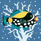 Clown Triggerfish by Jennifer Brinley Graphic Art on Wrapped Canvas