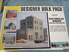 DPM Design Preservation Models #36200 Rectangular Window Industrial Building Kit