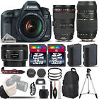 Canon EOS 5D Mark III 223 MP DSLR Camera + Canon EF 24 105mm f 4L IS USM Lens