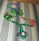 New Orleans Mardi Gras Beads Party Carnival Necklace Doll Face Slot Machine