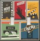 Home Theater Decor - Light Switch Plate Cover - Retro Movie Signs - Drive In