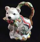 Fitz & Floyd Polar Bear Creamer Ceramic Classics Enchanted Holiday