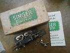 Vintage Singer Buttonhole Attachment for Lock Stitch Sewing Machines  No. 121795