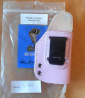 Cobra Shelby Leather IWB Holster w Clip fits Glock 2627 Pink Right Hand C424