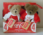 NEW Boyds Bears Coca-Cola Stuffed Ornaments ~ Coke Boyds Bears Plush Ornaments