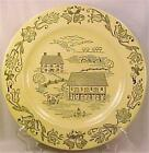 Royal Sebring Bucks County Dinner Plate Pennsylvania Dutch Farm Scenes Vintage