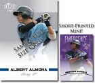 ADDISON RUSSELL 2012 Rize Rookie MINI PURPLE Paragon EMERGENCE RC # 5