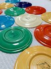 Butter Plates, (6) Saucers, Signed, c1940s, NR!