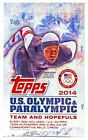 2014 TOPPS U.S. OLYMPIC & PARALYMPIC & HOPEFULS HOBBY BOX 3 HITS PER BOX!