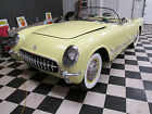 Chevrolet Corvette HARVEST GOLD 3 SPEED MANUAL 1955 corvette very rare harvest gold 3 speed correct 265 195 engine