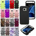 For Samsung GALAXY S7 Edge Hard Shockproof Tuff Hybrid Protective Case Cover