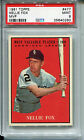 1961 Topps #477 Nellie Fox PSA 9 MINT Chicago White Sox *Low-Pop*