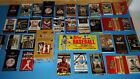 FOOTBALL & BASEBALL PACK LOT 1982 TOPPS GROCERY PACK CHROME UD MASTERPIECES BOX