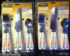 Corelle Fresh Cut MIB NOS Cutlery or Flatware utensils fork spoon knife 16 piece