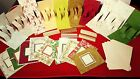 Anna Griffin Christmas Holiday Card 10 Pop Up Inserts Envelopes Cards Border