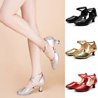 Women Girl ladys Ballroom Tango Latin Dance Dancing Shoes heeled Salsa