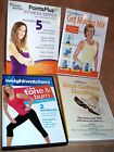 Lot of 8 WEIGHT WATCHERS Workout Fitness DVDs