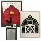 Darice Embossing Folders BARN embossing folder 1219 207 Cuttlebug Compatible New