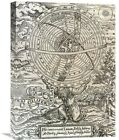 The Cosmographical Glasse by William Cuningham Graphic Art on Wrapped Canvas