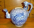 Antique Seto  Japanese Export Porcelain Dragonware Teapot No Lid 1 Break