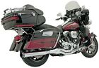 B4 Straight Exhaust System Bassani Manufacturing Chrome FLH 757