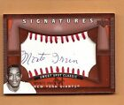 Monte Irvin 2005 Upper Deck Sweet Spot Classic Auto Giants FREE SHIP