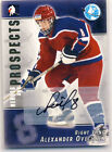 ALEXANDER OVECHKIN 2004-05 ITG Heroes & Prospects AUTO AUTOGRAPH RC CAPITALS *