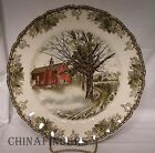JOHNSON Brothers FRIENDLY VILLAGE Large Dinner Plate - Autumn Mists 10-1/2