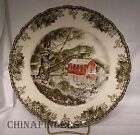 JOHNSON Brothers FRIENDLY VILLAGE Large Dinner Plate - The Old Mill - 10-1/2