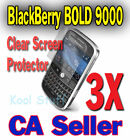 3X Clear Screen Protector BlackBerry BOLD 9000