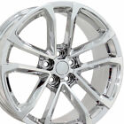 20 Camaro ZL1 Style Wheels PVD Chrome 20x85 Set of 4 Rims Fit Chevrolet