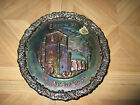 Vintage 1971 Fenton Christmas In America #2 The Old Brick Church Plate Fenton