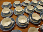 IVES BLUE/White Creamer Sugar Bowl Cups Sm Plates