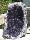 Amethyst Cluster From Uruguay-2 lbs 5 ounces-Cut Base-Deep Color/Sparkling Point