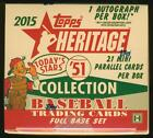 2015 Topps Heritage '51 Collection Baseball SEALED 24-Box HOBBY CASE