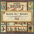 Graphic 45 Good Ol Sport 12 x 12 paper retired 12 double sided papers