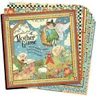 Graphic 45 Mother Goose 12 x 12 Paper 12 double sided papers retired
