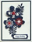 Card making kit of 4 Birthday Thanks Get Well Thinking of You Stampin Up