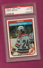 1982-83 OPC # 136 DEVILS AARON BROTEN ROOKIE PSA 10 GEM MINT CARD (INV#0685)