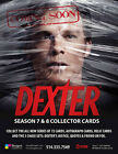 Dexter Seasons 7 & 8 Factory Sealed Collectors Box