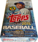 Topps 2015 Baseball Series 1 Factory Sealed Hobby Box