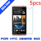 5X For HTC Desire 600 Ultra Clear HD Touch Screen Protector Film LCD Cover