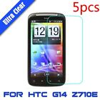 5x For For HTC G14 Z710E Ultra Clear HD Touch Screen Protector Film LCD Cover