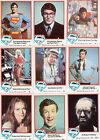 SUPERMAN THE MOVIE SERIES 1 1978 TOPPS COMPLETE BASE CARD SET OF 77 DC