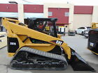 2007 CAT 287 B TURBO HIGH FLOW SKID STEER ASV TRACK LOADER BIG 82 HP
